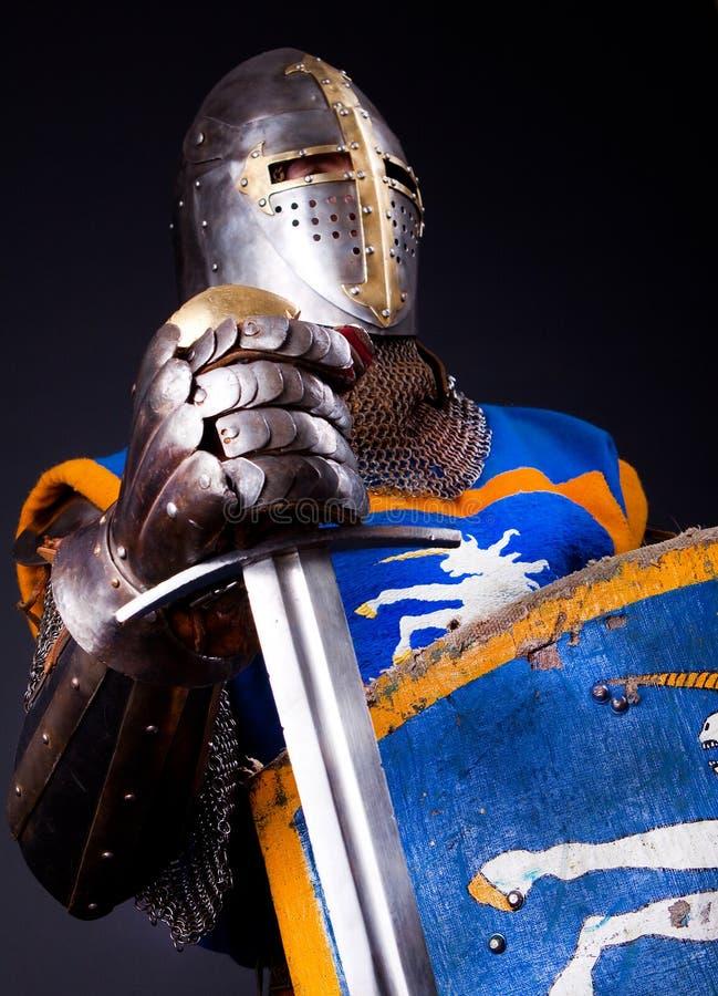Image de chevalier de gloire images libres de droits