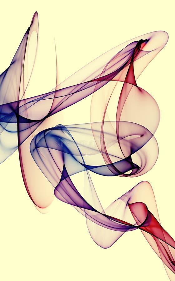 Image de Colorized d'une encre dans une eau illustration de vecteur