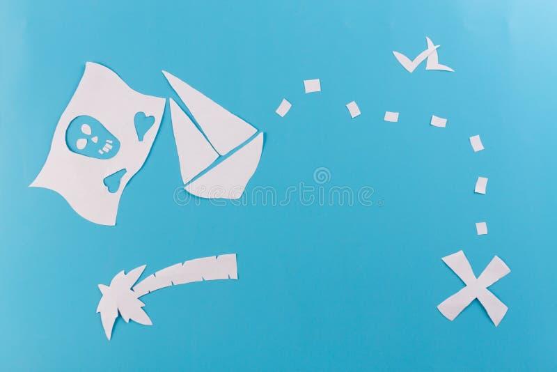 image de concept de bateau de pirate photo stock