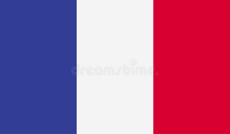 Image de drapeau de Frances illustration stock