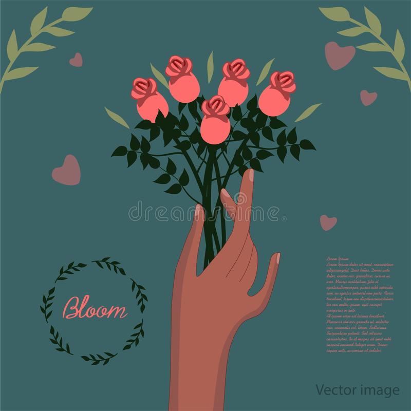 Image de fleur illustration libre de droits