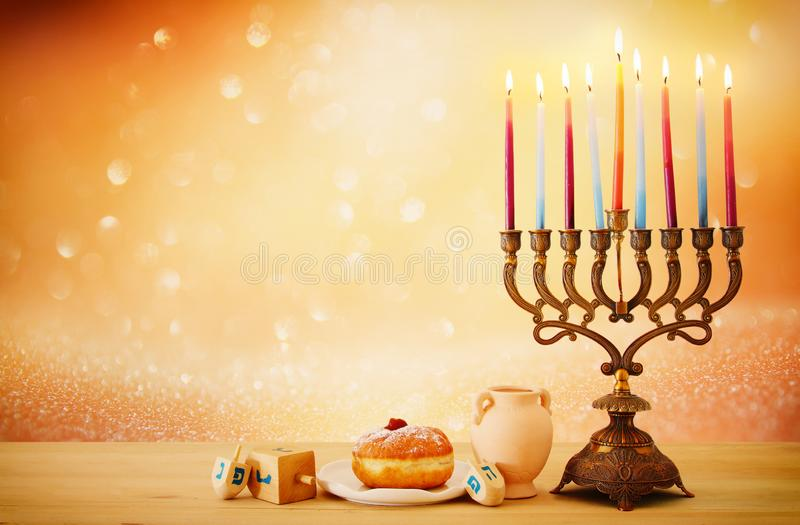 Image de fond juif de Hanoucca de vacances