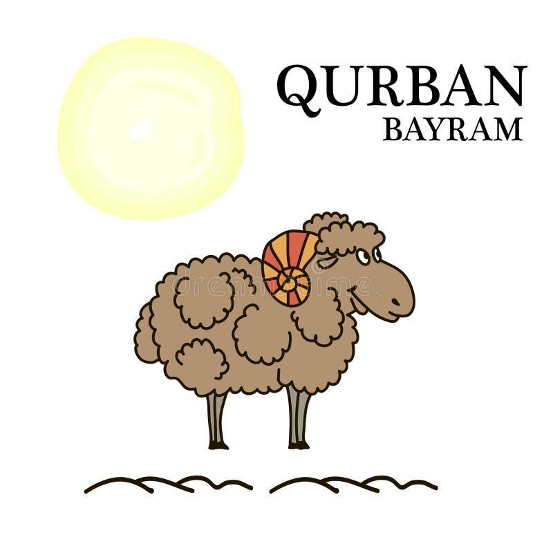 Download Image de l'agneau illustration de vecteur. Illustration du pochoir - 76082220