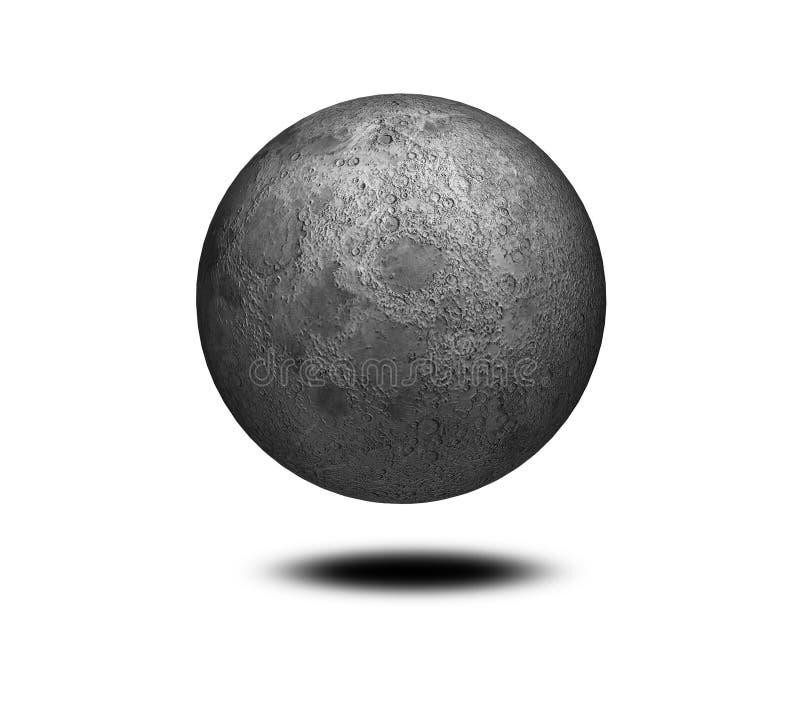 Image de la lune illustration de vecteur