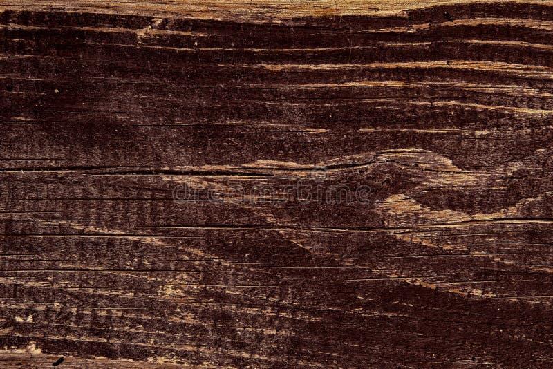 Image de la texture du bois brun Modèle de fond vintage en bois photos libres de droits