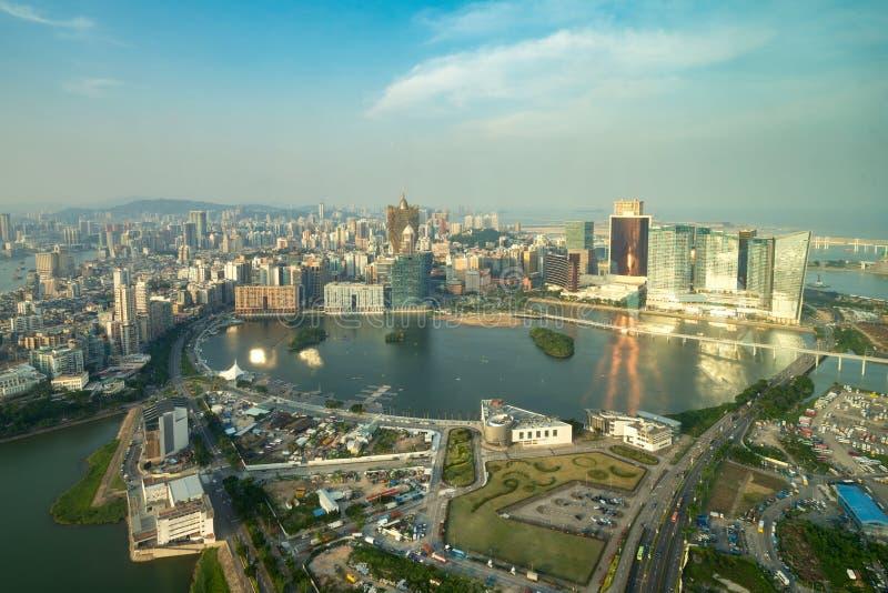 Image de Macao Macao, Chine B?timent d'h?tel et de casino de gratte-ciel au centre ville dans Macao Macao images libres de droits