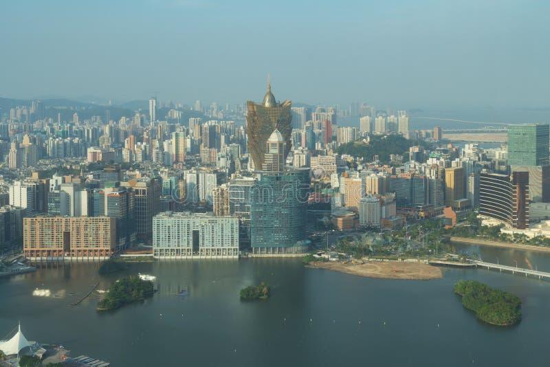 Image de Macao Macao, Chine Construction d'hôtel et de casino de gratte-ciel photo stock