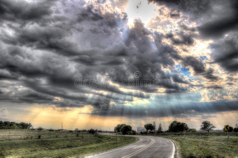 Image de nuage image libre de droits