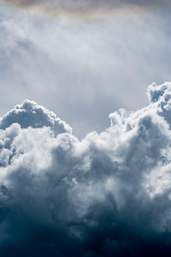 Image de nuage foncé photos libres de droits