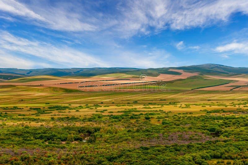 Image de paysage de prairie de l'Inner Mongolia images libres de droits