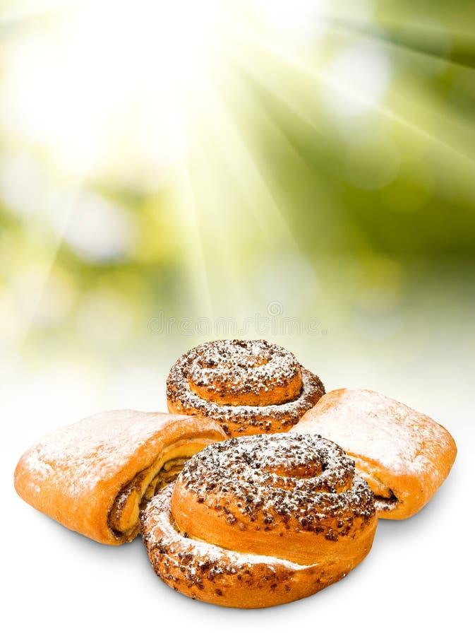 image de plan rapproché délicieux de petits pains images stock