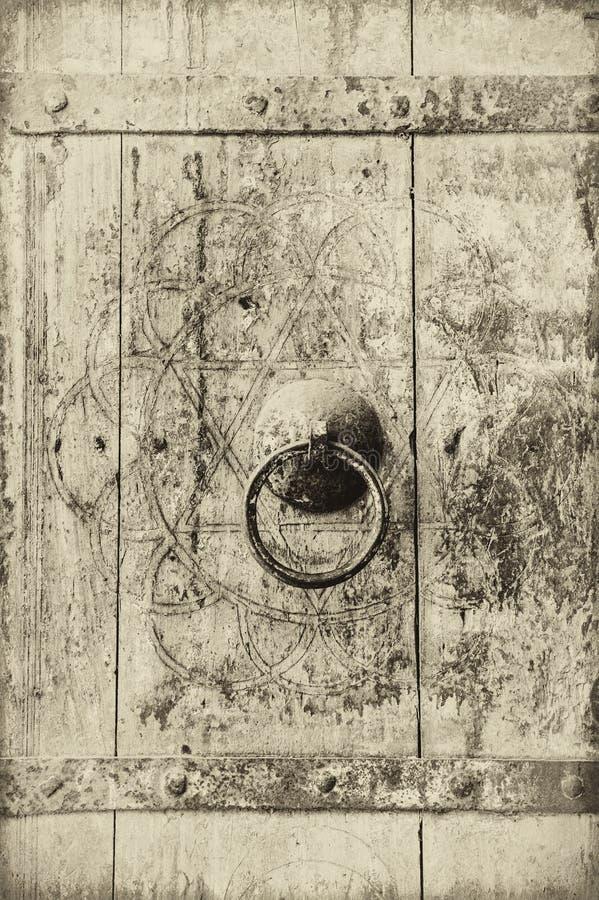 Image de plan rapproché des trappes antiques illustration stock