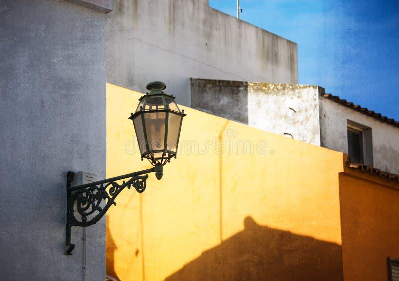 Image de style de vintage de vieille lanterne photo stock