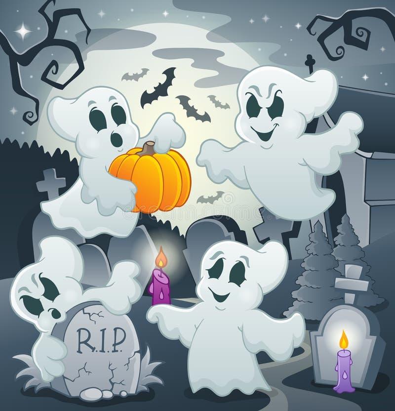 Image 4 de sujet de Ghost illustration de vecteur