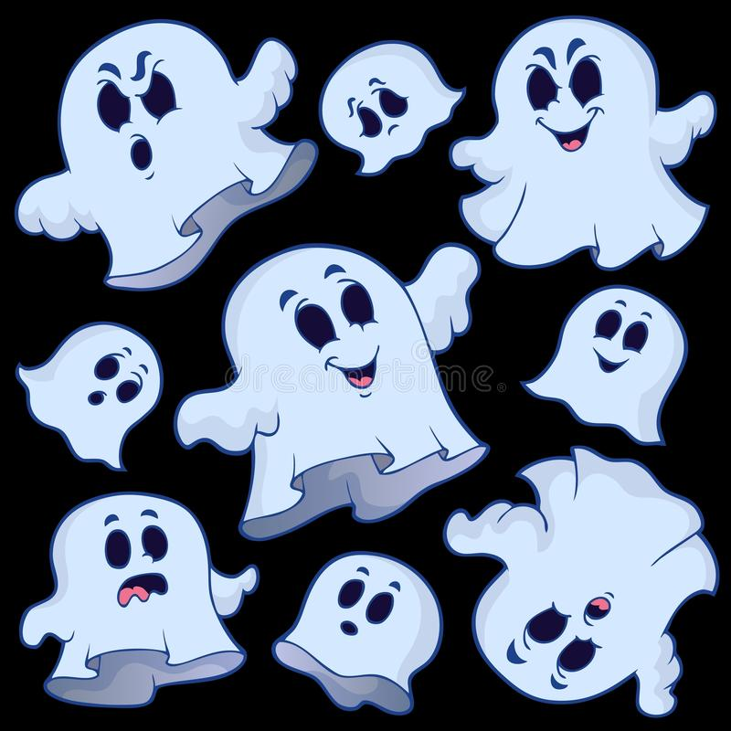 Image 6 de sujet de Ghost illustration de vecteur