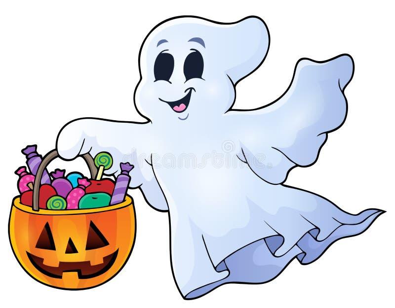 Image 8 de sujet de Ghost illustration stock