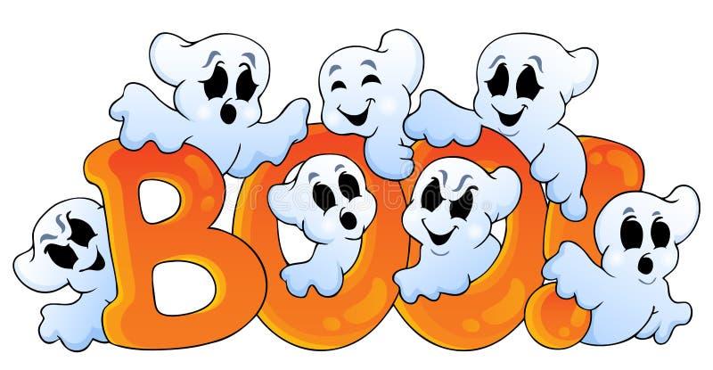 Image 7 de thème de Ghost illustration libre de droits