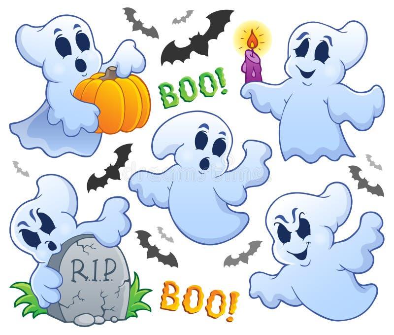Image 9 de thème de Ghost illustration libre de droits