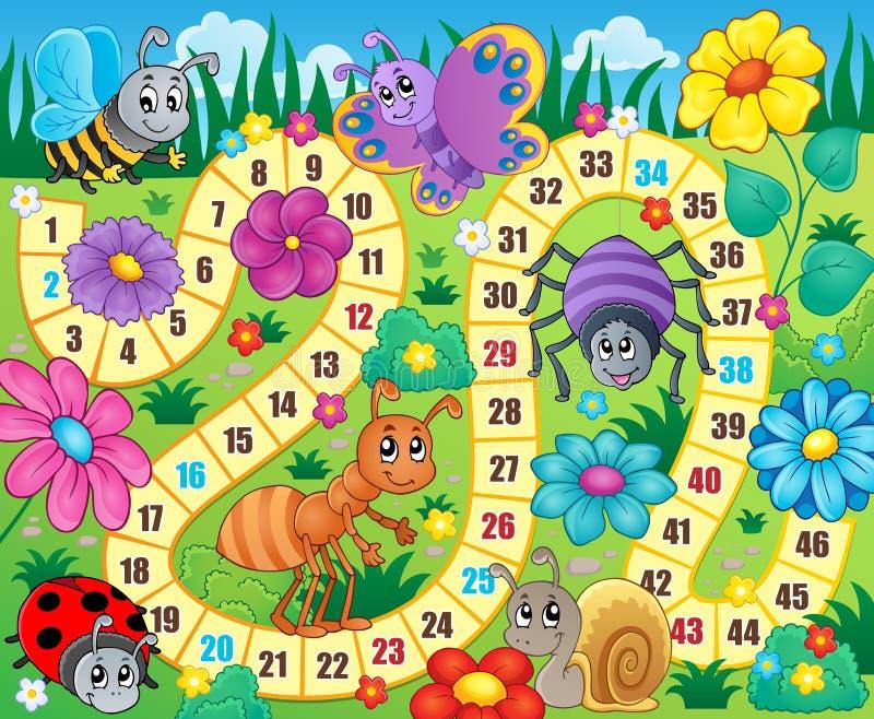 Image 9 de thème de jeu de société illustration de vecteur