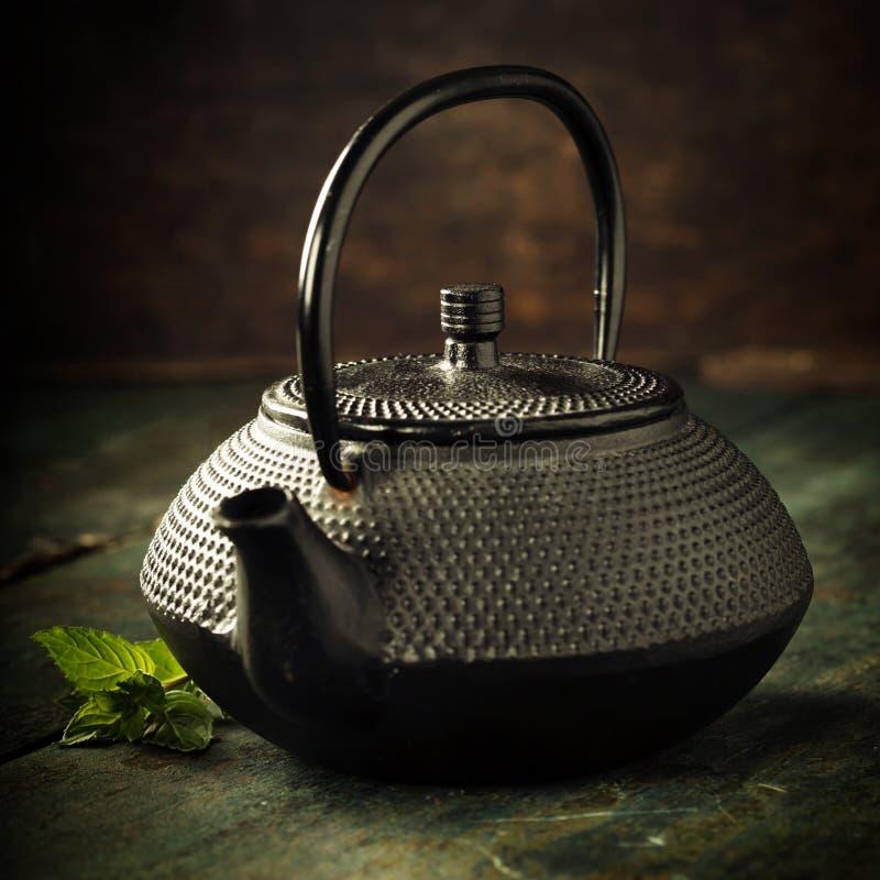 Image de théière orientale traditionnelle photographie stock libre de droits