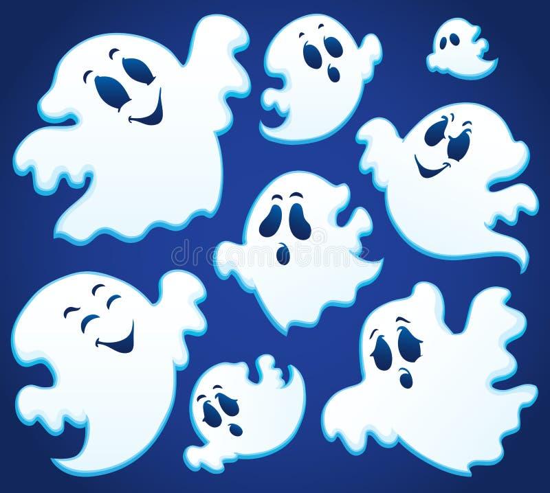 Image 1 de thématique de Ghost illustration de vecteur
