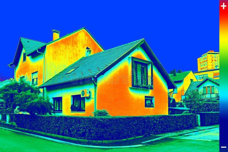 Image de Thermovision sur la Chambre photo libre de droits