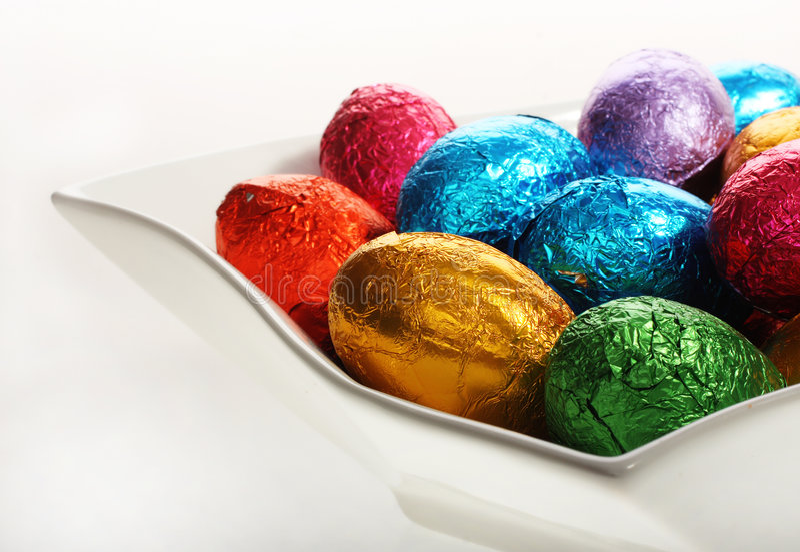 image de vacances de Pâques de chocolat photos libres de droits