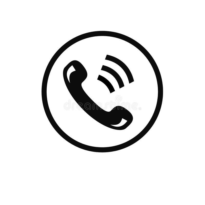Image de vecteur d'icône de téléphone de mise en réseau d'affaires illustration de vecteur