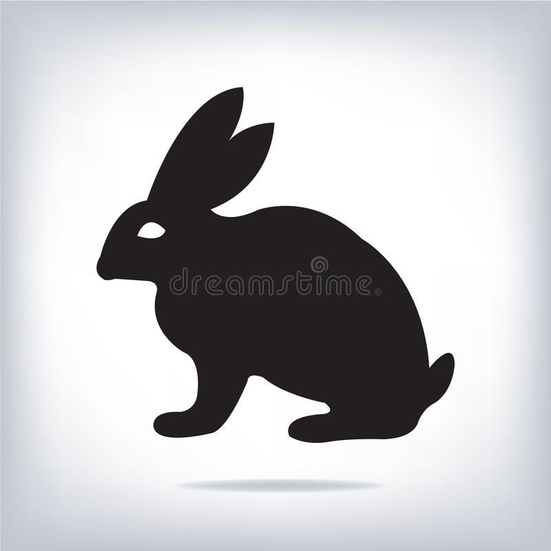 Image de vecteur d'un lapin illustration libre de droits