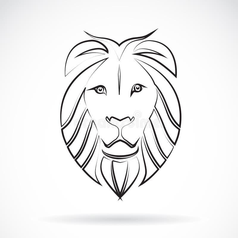 Image de vecteur d'un lion illustration de vecteur