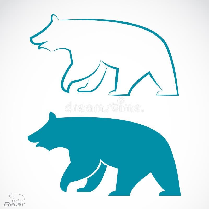 Image de vecteur d'un ours illustration libre de droits