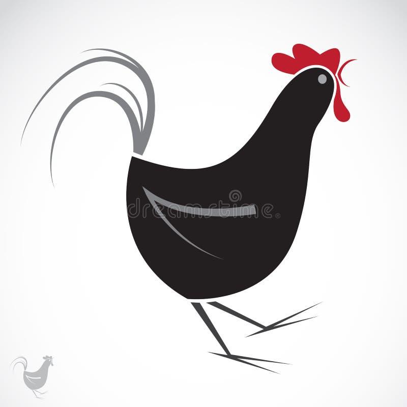 Image de vecteur d'un poulet illustration stock