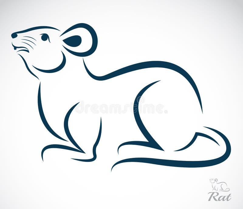 Image de vecteur d 39 un rat image libre de droits image - Dessin d un rat ...