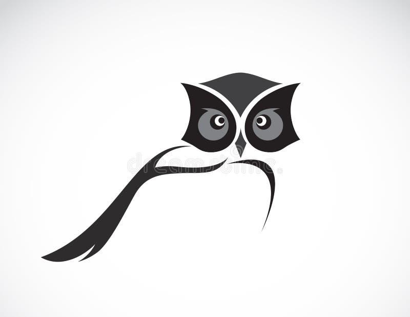 Image de vecteur d'une conception de hibou illustration libre de droits