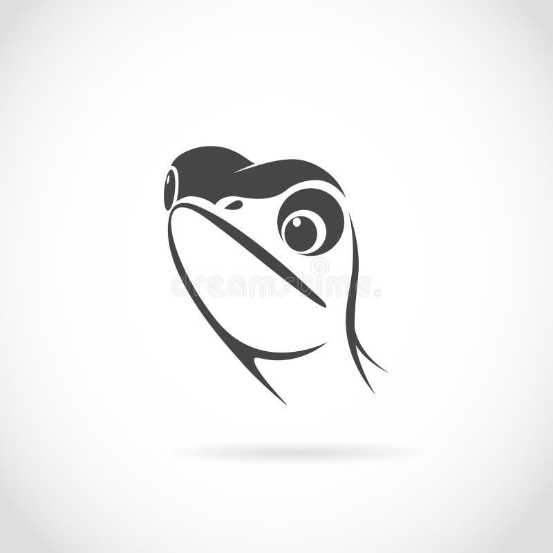 Image de vecteur de tête de lézard illustration libre de droits