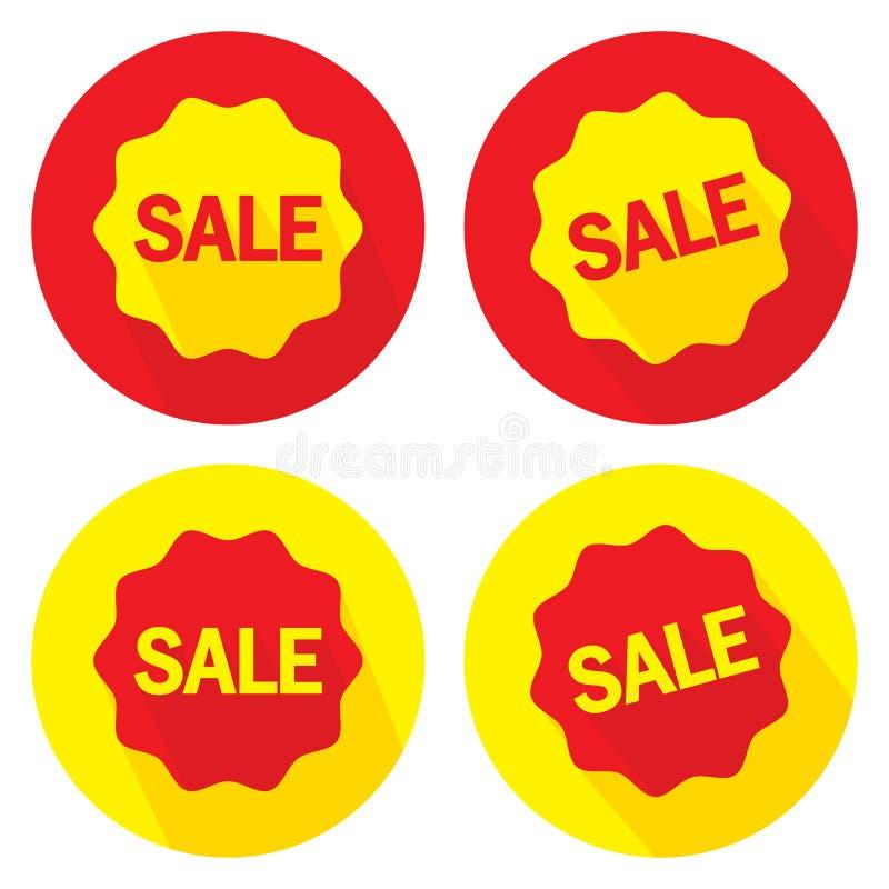 Image de vecteur Offre promotionnelle à vendre, grandes offres promotionnelles illustration stock
