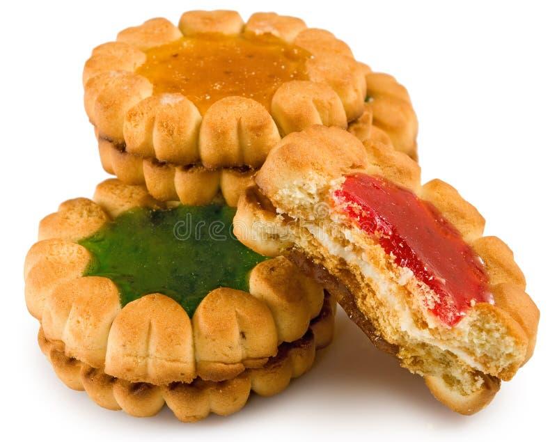 Image des biscuits délicieux images stock