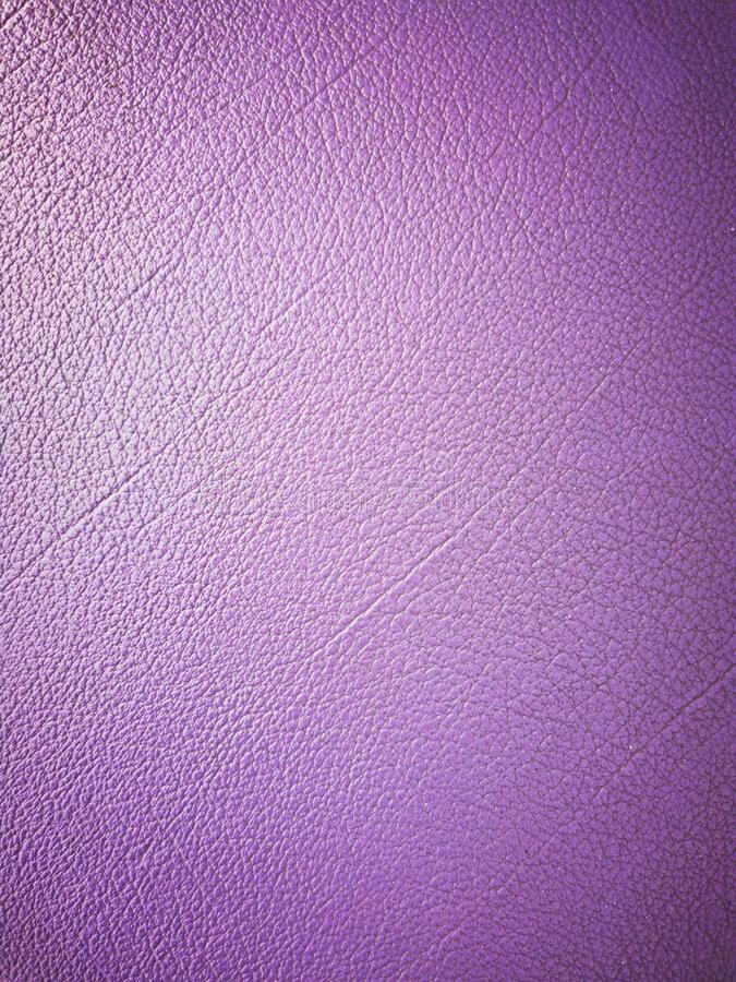 Background and texture of deep purple leather with shades stock images