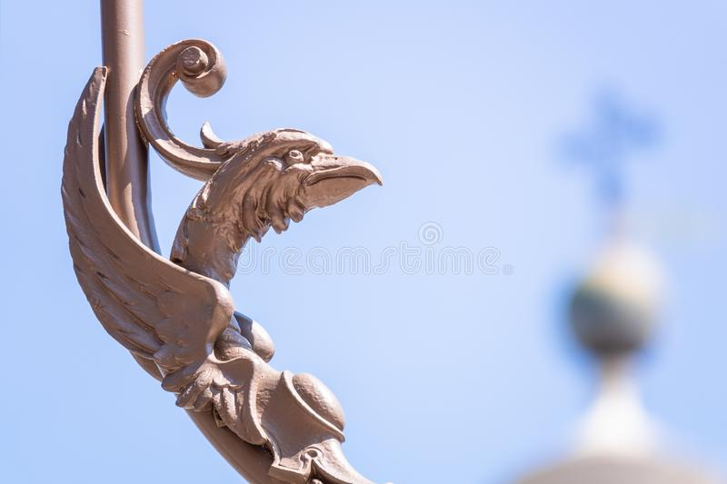 Details of the Basilica della Santa Casa in Italy Marche. An image of details of the Basilica della Santa Casa in Italy Marche stock photography