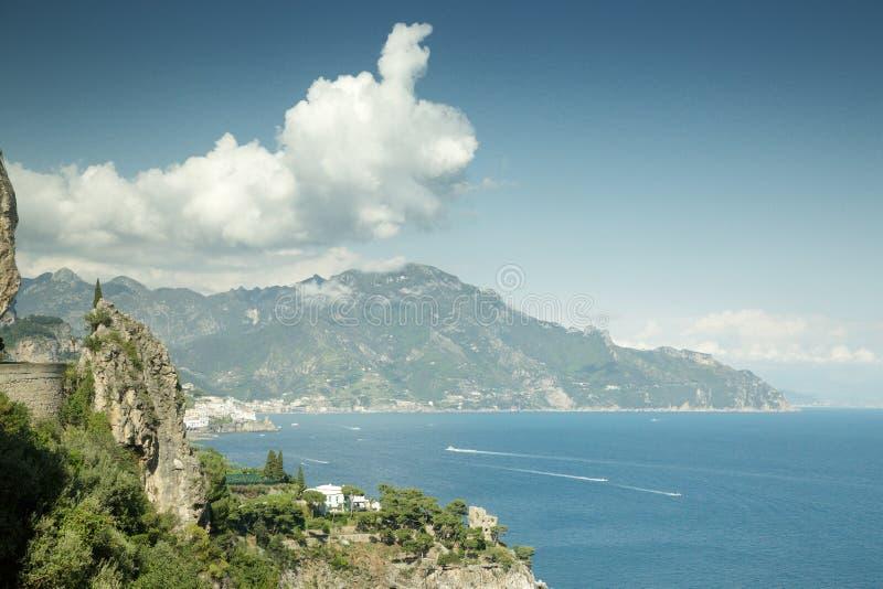 Image du paysage marin en italie photo libre de droits