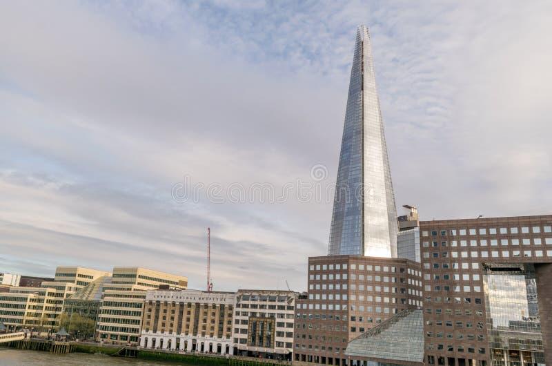 Image du tesson et du Southwark, tir de pont de Londres photo libre de droits