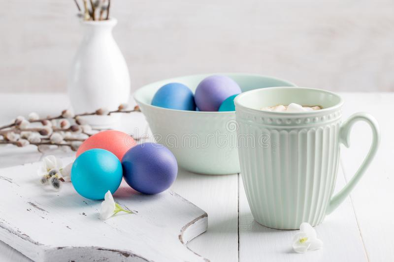 Image with Easter. stock photos