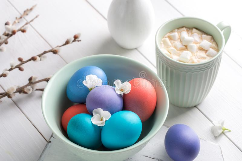 Image with Easter. royalty free stock photos