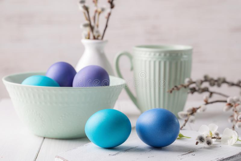 Image with Easter stock photography