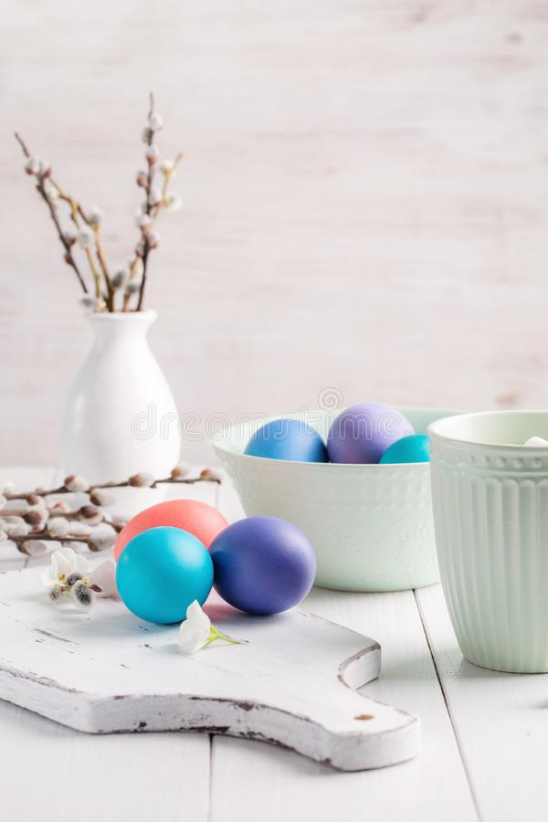 Image with Easter stock photo