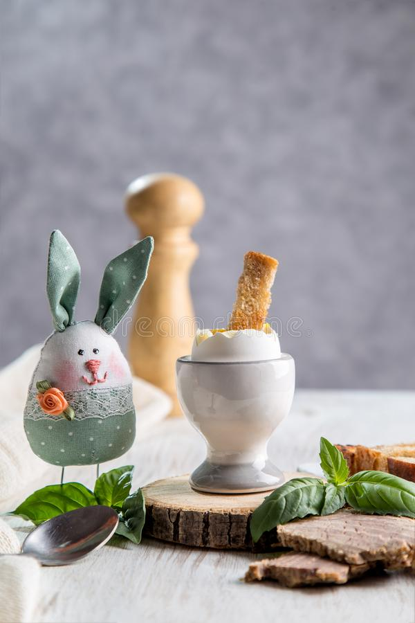 Image with an egg royalty free stock images