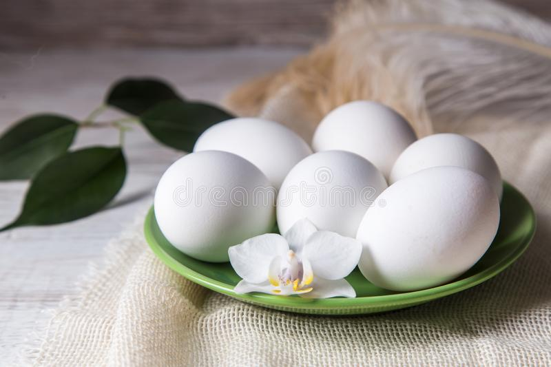 Image with eggs royalty free stock photo