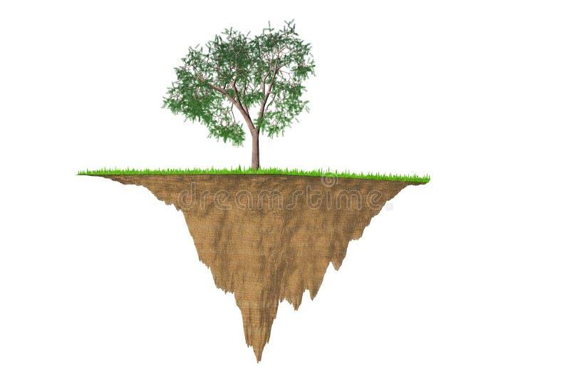 Image environnementale de concept illustration de vecteur