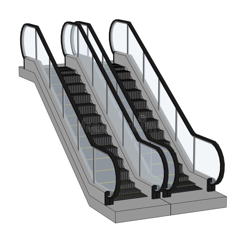 Escalator Stock Illustrations 5 247 Escalator Stock Illustrations Vectors Clipart Dreamstime