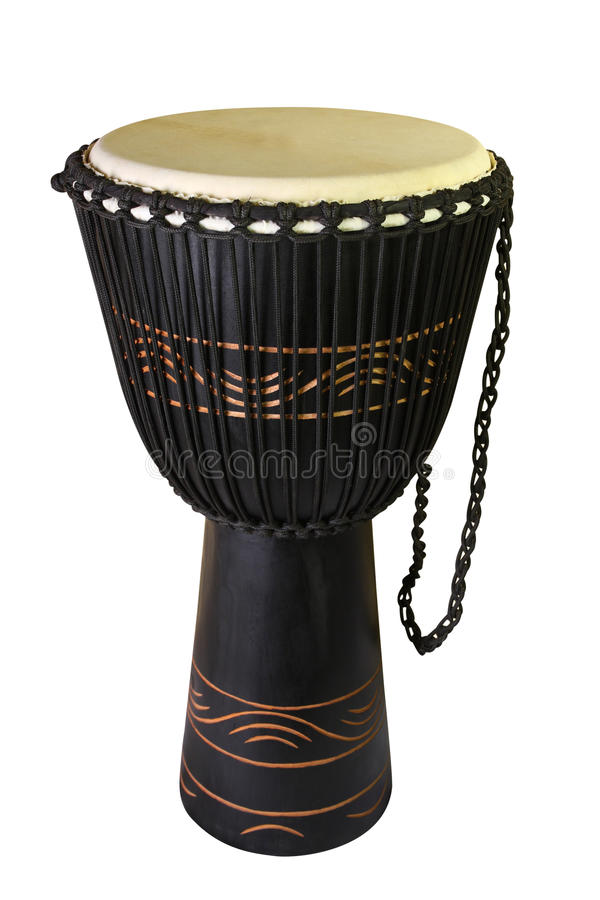 The Image Of Ethnic African Drum Stock Photos